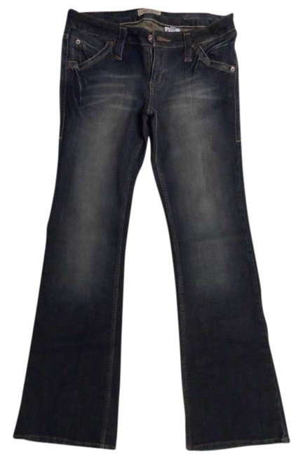 Paris Blues Boot Cut Jeans-Distressed