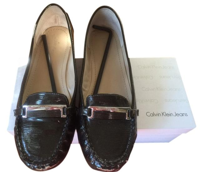Calvin Klein Whiskey Amy Burnished Leather In Color: Flats Size US 9.5 Regular (M, B) Calvin Klein Whiskey Amy Burnished Leather In Color: Flats Size US 9.5 Regular (M, B) Image 1