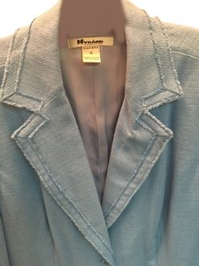 Peter Nygard Egg Shell Blue Jacket