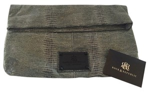 Rock & Republic Black and Grey Clutch