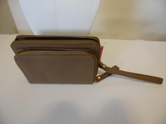 Naturalizer Naturalizer Leather WalletDouble Wristlet