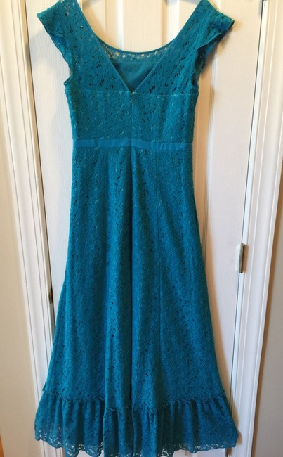 Blue Maxi Dress by Anthropologie