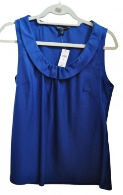 Preload https://item4.tradesy.com/images/banana-republic-blue-sapphire-professional-tank-topcami-size-8-m-37928-0-0.jpg?width=400&height=650