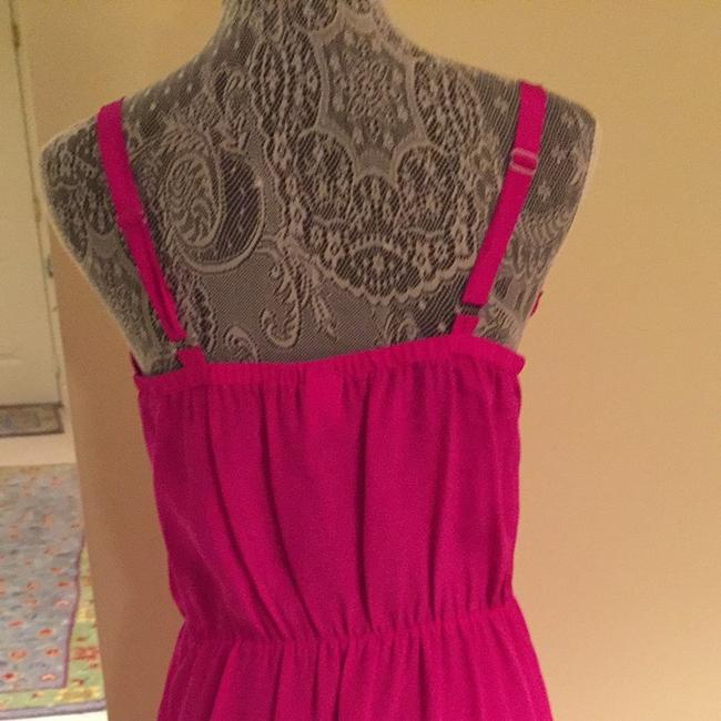 Amanda Uprichard short dress Hot Pink on Tradesy