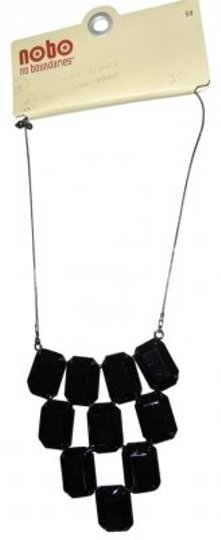 Preload https://item1.tradesy.com/images/no-boundaries-black-and-gun-metal-rhinestone-chunky-necklace-37930-0-0.jpg?width=440&height=440