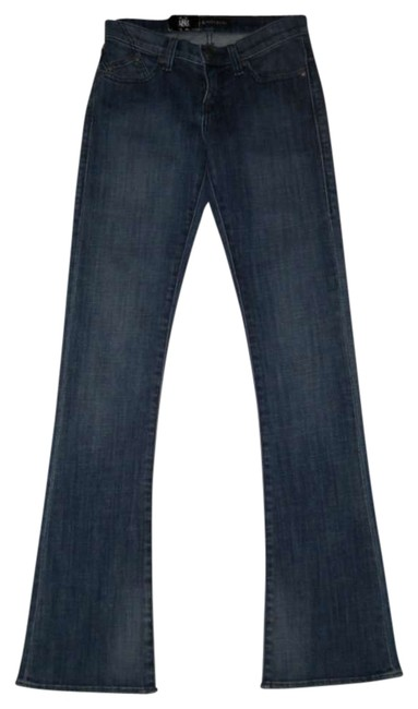 Rock & Republic Kasandra Denim Size 0 Stretch Cotton & New New With Tags Boot Cut Jeans-Medium Wash