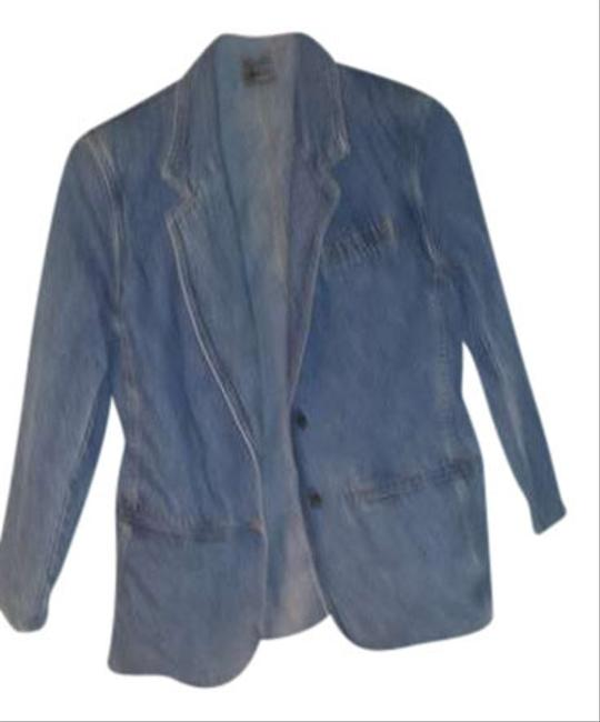 Liz Claiborne DENIM LIGHT Womens Jean Jacket