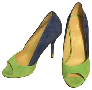 BCBGeneration Mint Green And Blue Pumps