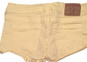 True Religion Shorts Yellow