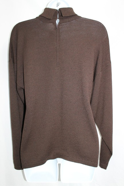 St. John Sportwear Knit DARK BROWN Jacket