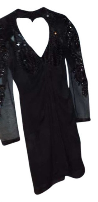 Preload https://item3.tradesy.com/images/black-with-black-seqence-por-david-howard-above-knee-night-out-dress-size-petite-6-s-379407-0-0.jpg?width=400&height=650