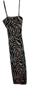 BLACK WHITE Maxi Dress by Newport News