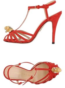 Charlotte Olympia Red Sandals