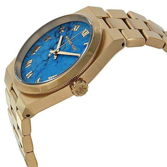 Michael Kors Michael Kors Turquoise Dial Gold-tone Ladies Watch