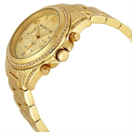 Michael Kors Michael Kors Golden Crystal Glitz Ladies Watch
