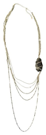 Preload https://item5.tradesy.com/images/silver-and-black-stone-multi-strand-necklace-3794929-0-0.jpg?width=440&height=440