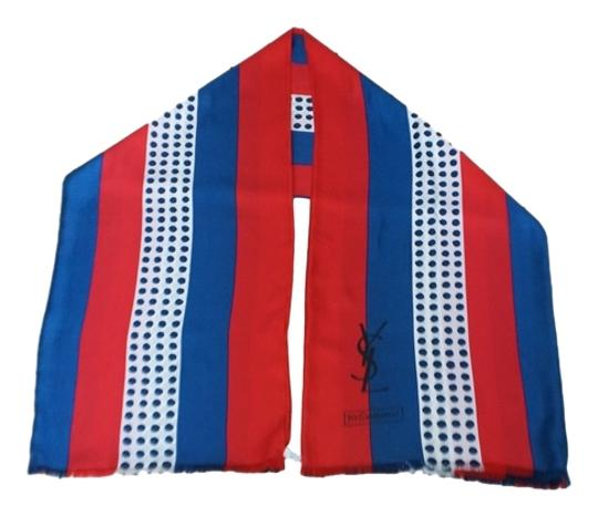 Preload https://item4.tradesy.com/images/saint-laurent-red-white-blue-ysl-designer-vintage-4th-of-july-silk-scarfwrap-3794983-0-0.jpg?width=440&height=440