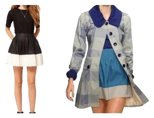 Preload https://img-static.tradesy.com/item/3795496/tulle-blue-gray-vintage-look-anthropologie-color-block-miniskirt-size-16-xl-plus-0x-0-0-650-650.jpg