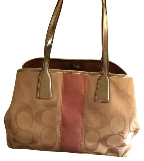Preload https://item2.tradesy.com/images/coach-silver-and-pink-f13533-shoulder-bag-3795736-0-0.jpg?width=440&height=440