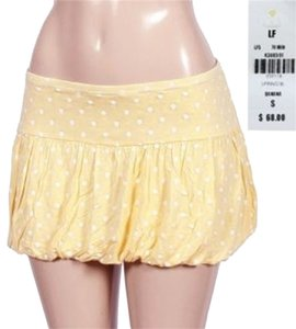 Hello2You Mini Skirt yellow white - item med img