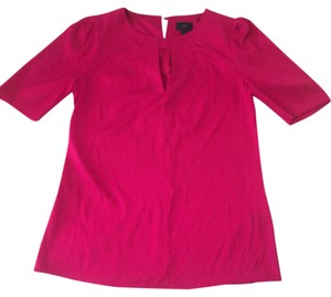 Banana Republic Silk Top Hot Pink