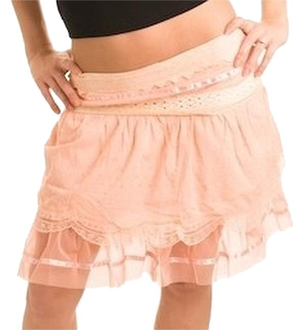 GRIFFLIN PARIS Mini Skirt peach