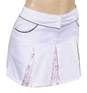 GRIFFLIN PARIS Mini Skirt white