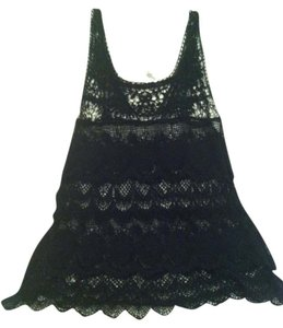 Anthropologie Boho Scalloped Lace Tank Tunic