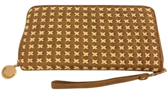 Urban Expressions Urban Expressions certified vegan leather woven clutch credential wallet