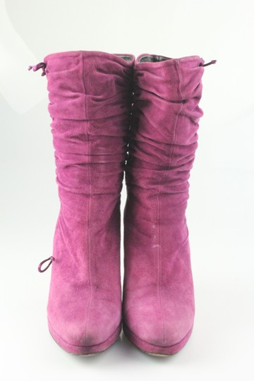 Gucci Purple Boots