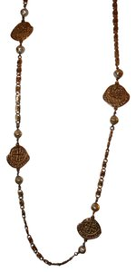 Preload https://item2.tradesy.com/images/gold-40-inch-gold-tone-link-wpearl-and-dabloon-medallions-necklace-3797341-0-0.jpg?width=440&height=440