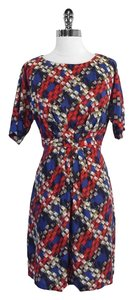 Trina Turk short dress Print Silk on Tradesy