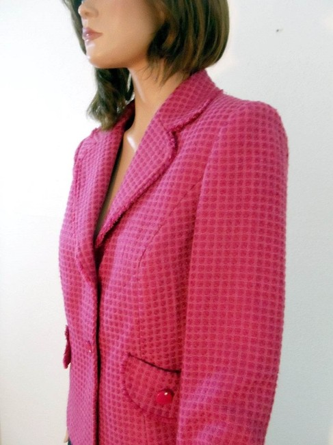 Requirements Boucle Pink Blazer