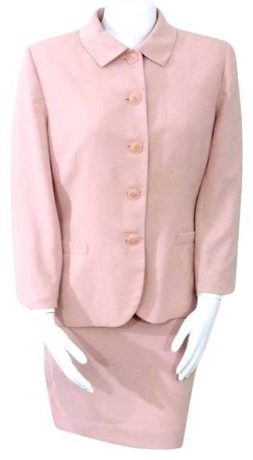 Preload https://img-static.tradesy.com/item/3797629/dusty-rose-vintage-90s-two-piece-skirt-suit-size-14-l-0-1-650-650.jpg