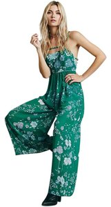 Free People Jumpsuit Floral Vintage Dress