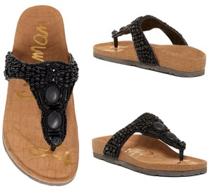 Sam Edelman Sandal Summer Embellished Black Sandals