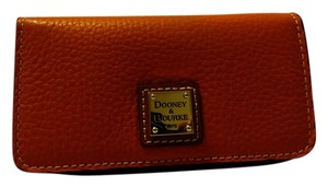 Dooney & Bourke Dooney & Bourke Pebble Leather Slim Cell Phone Wallet