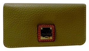 Dooney & Bourke Dooney & Burke Pebble Leather Slim Cell Phone Wallet