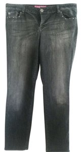 GLO Jeans Straight Leg Jeans-Light Wash
