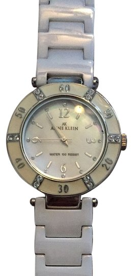 Anne Klein White Ceramic Anne Klein Watch