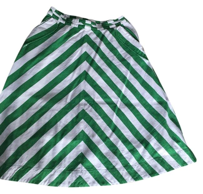 Preload https://item5.tradesy.com/images/anthropologie-skirt-green-and-white-3799264-0-0.jpg?width=400&height=650