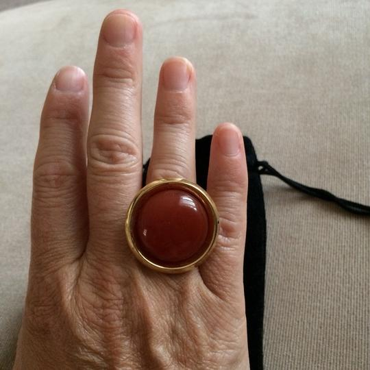 House of Harlow 1960 House Of Harlow Carnelian Ring