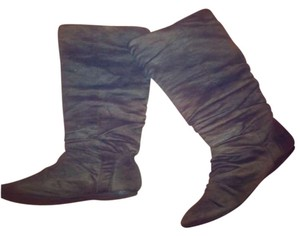 Herstyle Slouch Winter Grey Boots