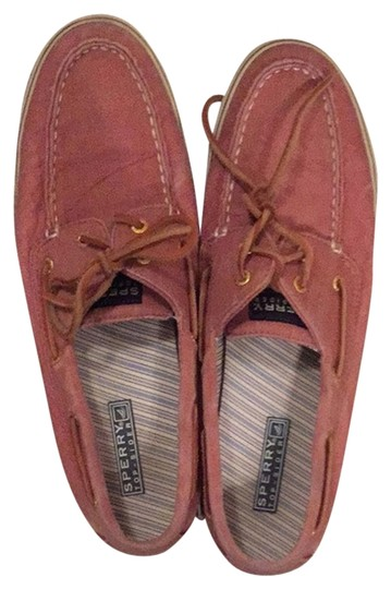 Sperry Red/pink Flats