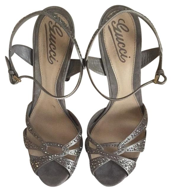 Item - Taupe with Jewels . Formal Shoes Size US 8 Regular (M, B)