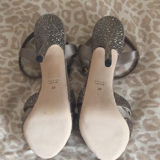 Gucci Taupe With Jewels Formal