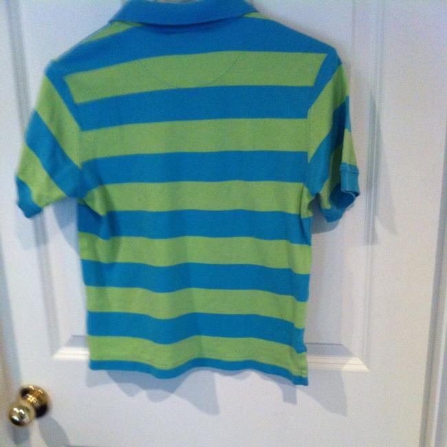 Hanna Andersson T Shirt Turquoise And Lime