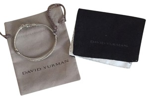 David Yurman David Yurman Silver Diamond Bracelet