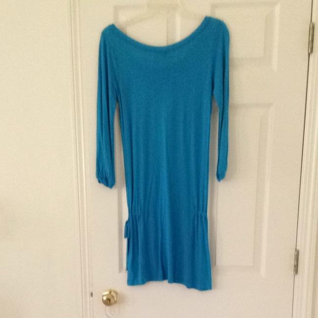 French Connection short dress Turquoise on Tradesy