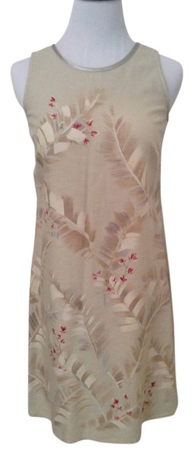 Liz Claiborne short dress Pale green multi on Tradesy